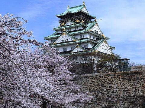 大阪城公園・西の丸庭園の桜!見頃は?駐車場のおすすめはどこ?